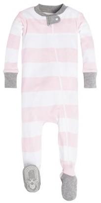 Burt's Bees Baby Baby Girls Organic Cotton One-Piece Snug Fit Footie Pajamas