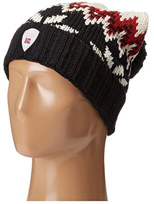 Dale of Norway Myking Hat (Black/Raspberry) Caps