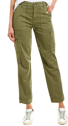 Hudson Washed Troop High-Rise Classic Cargo Pant