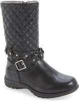 Kenneth Cole New York 'Dolly' Quilted Boot (Toddler)