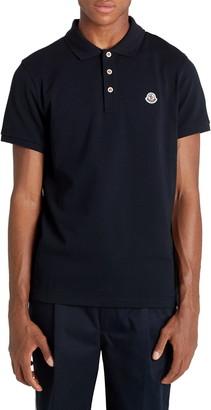 Moncler Short Sleeve Pique Polo