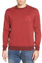 Psycho Bunny &SW146& Stripe Crewneck Sweater