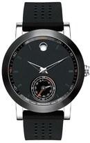 Movado 'Museum Sport Motion' Rubber Strap Smart Watch, 44mm