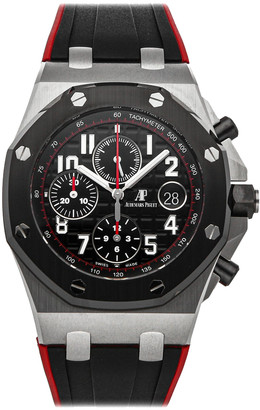 Audemars Piguet Black Stainless Steel Royal Oak Offshore Chronograph 26470SO. OO. A002CA.01 Men's Wristwatch 42 MM