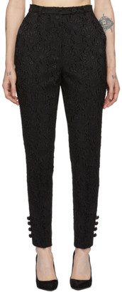Erdem Black Bernadina Trousers