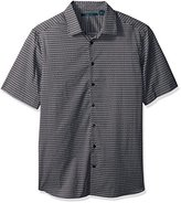 Perry Ellis Men's Big and Tall Micro Diamond Dot Shirt