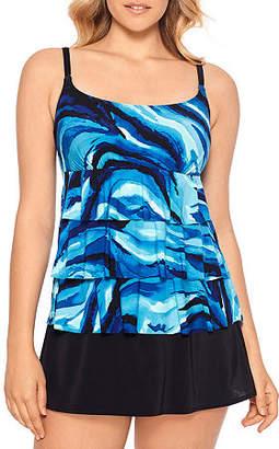 Robby Len By Longitude Waves Swim Dress