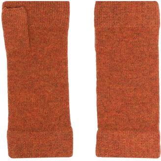 N.Peal Fingerless Cashmere Gloves