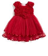 Infant Girl's Popatu Rosette Tulle Dress