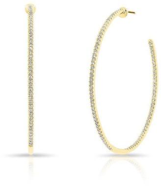 Anne Sisteron Dia Hoop Earrings