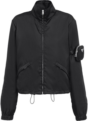 Prada Sleeve Zip Pocket Jacket