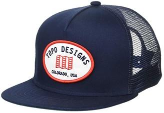 Topo Designs Snapback Hat (Navy 2) Caps