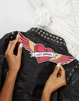 Orelia Just Married Wings Sew On Patch