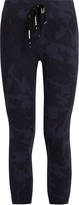 The Upside Seals camo-print cropped performance leggings