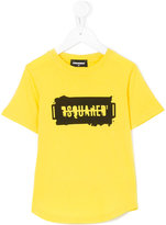 DSQUARED2 logo printed T-shirt - kids - Cotton - 6 yrs