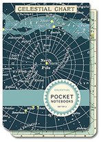 Cavallini & Co. Cavallini Celestial 2 Pocket-Sized Notebooks, 2.75-Inch by 4-Inch