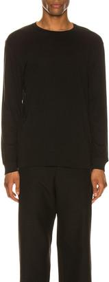 Wardrobe NYC Long Sleeve T-Shirt in Black   FWRD