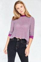 BDG Ringer Swing Pullover Sweater