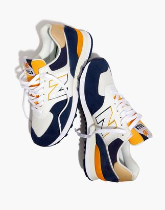 Madewell New Balance 574 Split Sail Sneakers