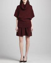 Catherine Malandrino Antigone Pleated Felt Skirt