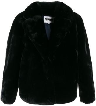 Apparis faux-fur jacket