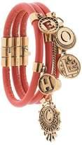 Chloé gold-tone embellished bracelets