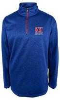 NCAA Kansas Jayhawks Men's 1/4 Zip Sweatshirt