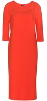 Jil Sander Navy Crepe Dress