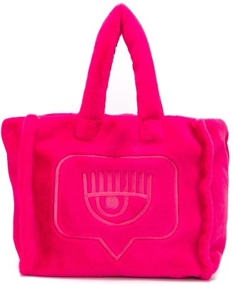Chiara Ferragni Flirting embroidered tote bag