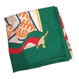 Gucci Green Silk Scarf