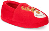 Family Pajamas Boys' or Girls' Reindeer Slippers, Only at Macy's