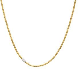 Gurhan 24K/22K Yellow Gold & 18K White Gold Diamond Pave Vertigo Statement Necklace, 16-18