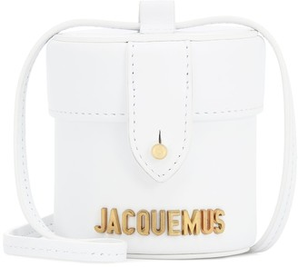 Jacquemus Le Vanity Mini leather bucket bag