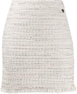 Twin-Set Tweed Skirt