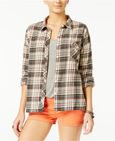 Volcom Juniors' Oldie-N-Goodie Plaid Shirt