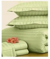 Charter Club Damask Stripe 500 Thread Count Twin Bedskirt Palmetto