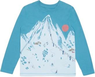 Peek Aren't You Curious Cole Ski Resort Long Sleeve Graphic T-Shirt