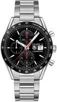 TAG Heuer Men's Swiss Automatic Chronograph Carrera Stainless Steel Bracelet Watch 41mm CV201AK.BA0727