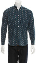 Billy Reid Printed Button-Up Shirt