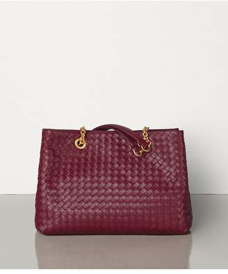 Bottega Veneta Small Tote In Intrecciato Nappa