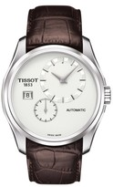 Tissot Men's Couturier Automatic Leather Strap Watch, 39Mm