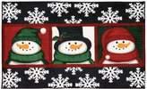 Nourison 612JT 3 Snowman Faces 3 Snowman Faces Rug