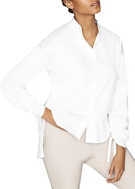 Thumbnail for your product : b new york Conscious Pleat Sleeve Button Down
