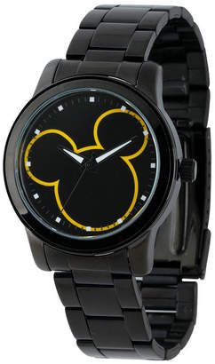Character Mickey Mouse Mens Black Bracelet Watch-W001989