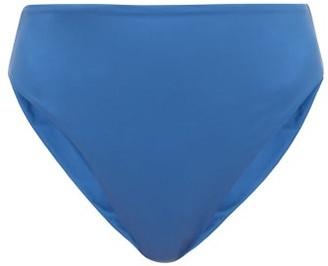 JADE SWIM Incline High-rise Bikini Briefs - Womens - Blue