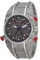 Sector R3273695225 40.2mm Silver Steel Bracelet & Case Acrylic Men's Watch