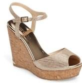 Jimmy Choo Perla Cork Wedge Sandal (Women)