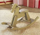 Pottery Barn Kids Wooden Horse Rocker