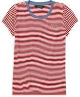 Ralph Lauren Polo Girls' Striped Nautical Tee - Big Kid