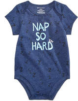 First Impressions Nap So Hard Bodysuit, Baby Boys, Created for Macy's